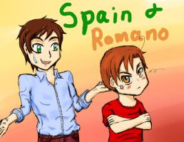 Spain and Romano by tigergal43