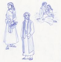 Holy Family Sketches by kuabci