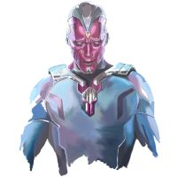Paul Bettany as Vision from Age of Ultron by danomano65