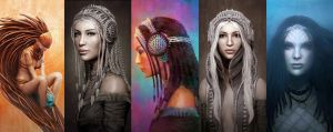 Isis series by sancient