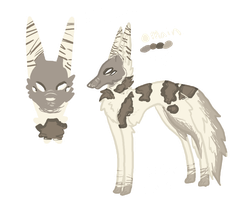 **Fleur Reference Sheet by Kama-ItaeteXIII