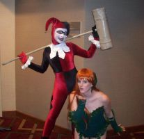 Harley Quinn and Poison Ivy by Ravenspiritmage