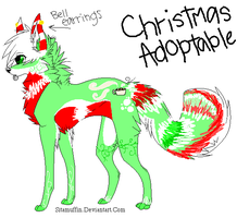 SceneDog Christmas Adopt CLOSED by TheAdoptShop