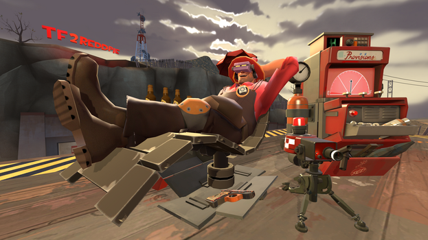 Red pie (engineer loudout/sona) by tf2redpie