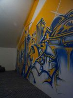 Graffity wall by grin
