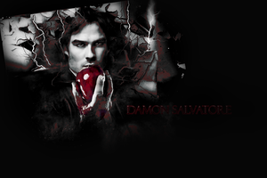 Damon Salvatore by ParalyzingLove