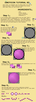 Emoticon Tutorial For GIMP by sutapets