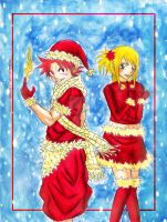 Merry Christmas from Us- Natsu x Lucy by Randazzle100