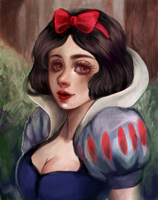 Snow White by mr-tino