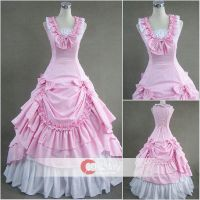 Sweet Sleeveless Bowtie Classic Lolita Dress by wendywei2012