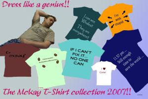 The McKay Tshirt Colletction by Gundambaby