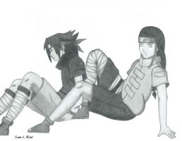 Sasuke and Neji by direvixen