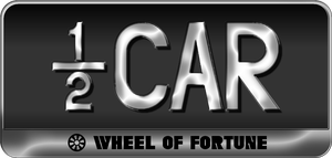 Wheel of Fortune - 1/2 Car Plate by darellnonis