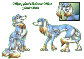 Skye Feral Reference Sheet by wielderofthewind