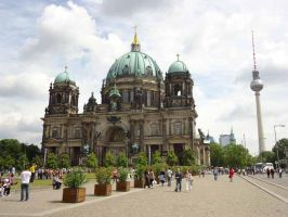 Berliner Dom front by Arminius1871