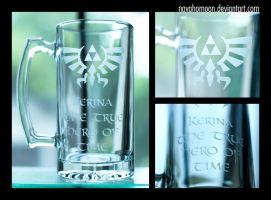 Legend of Zelda Mug by NavahoMoon