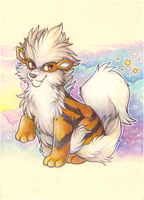 arcanine by Ricefish