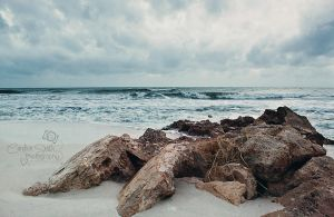 Rocky Shore by CandiceSmithPhoto