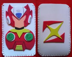 Phone cover (Zero-Megaman) by Daeshagoddess