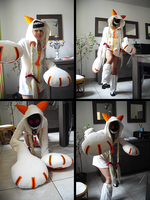 Cosplay Taokaka. by Noru-Chan