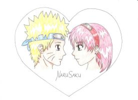 NaruSaku Coloured by lucky-m3