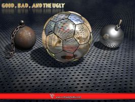 Good Bad and the Ugly by soheilghotbi