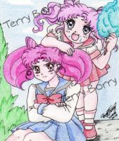Sailor Moon parallel by TerryBorry
