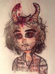Demon!Grumps Danny by Salami-Butts