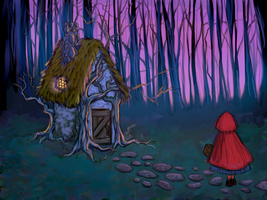 Little Red Riding Hood - Cottage Design by DylanBonner