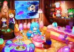 Comic Fiesta 2015: Underwater Sea Cafe in Thalas by Xsaye