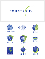 County GIS Logo by montia