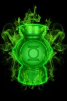 Firey Green Lantern Battery by KalEl7