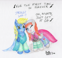 Spring's Imagine Spot? by KuroiTsubasaTenshi