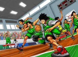 Fast Break by the-hary