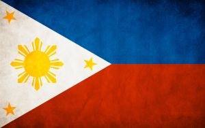 Philippines Grungy Flag by think0