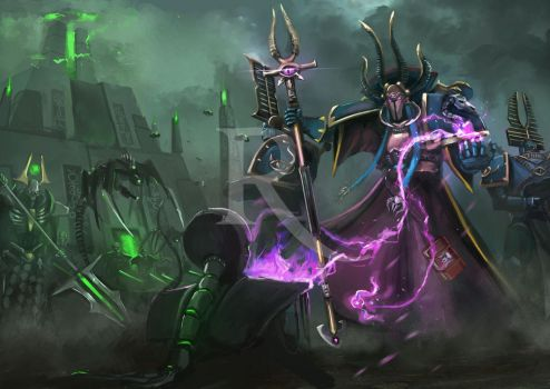 Thousand Sons by artofrussell