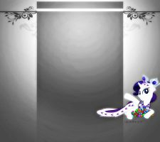 Rarity youtube bg by CelestiasRevenge