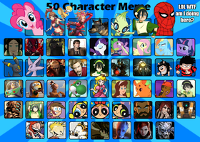 My 50 Characters Meme by BoyOffTheTing