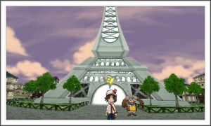 Me and the Lumose City Gym by Spyroconvexity