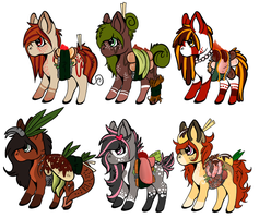 Sushi Pony Adoptables Commission CLOSED by KingRefi