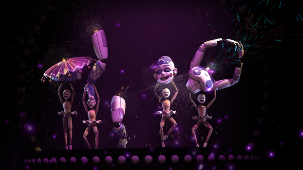 Broken Ballet (fnaf sfm) by JR2417