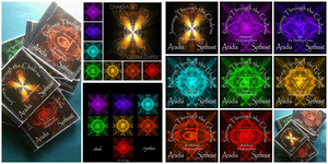 Journey Through the Chakra's CD  Artwork by gloriagypsy