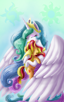 Welcome Home, Sunset Shimmer by ChanceyB