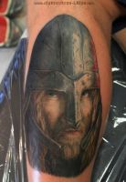 Viking tattoo by AtomiccircuS