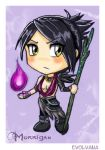 Morrigan chibi by Evolvana