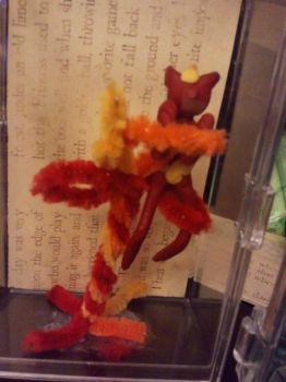 fire spirit (display) by Killercatnip