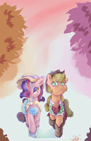 Autumn Stroll by AquaticSun