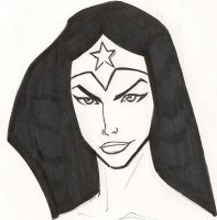 wonder woman animated by faust40