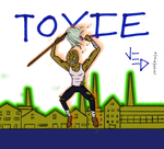 TOXIE KICKS ASS by LittleGreenGamer