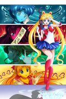 Pretty Sailor Senshi by Simona018